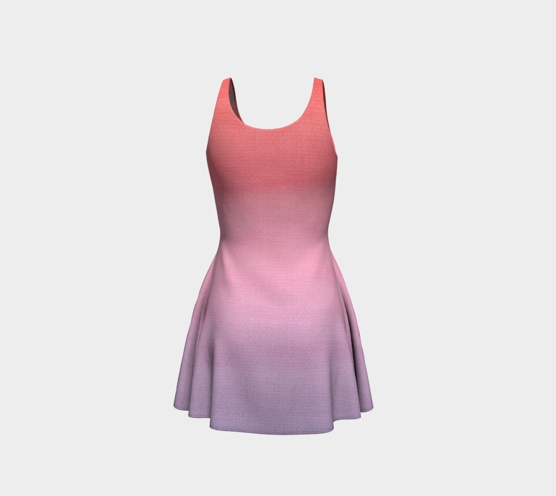 Aperçu de Pink and Lavender Gradient Ombre  #3