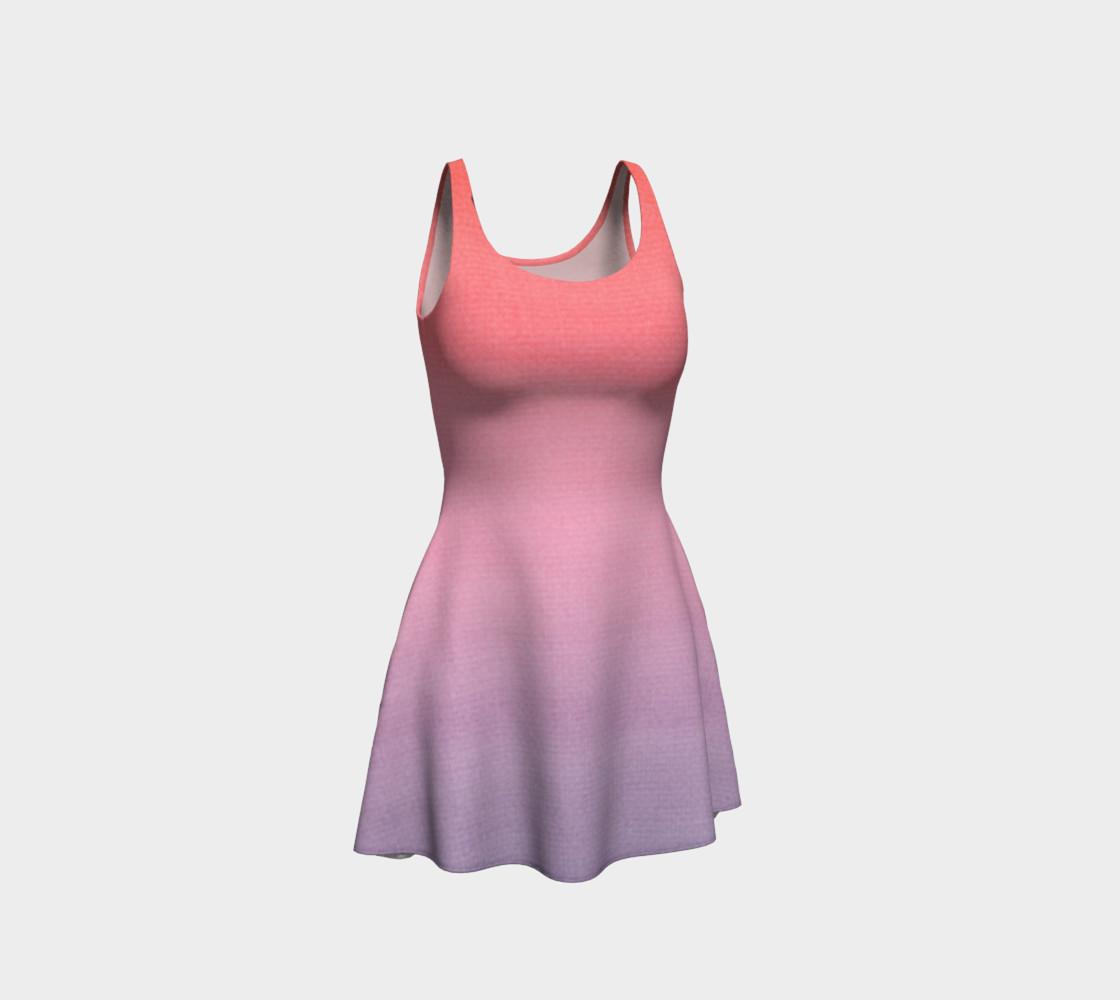 Aperçu de Pink and Lavender Gradient Ombre  #1