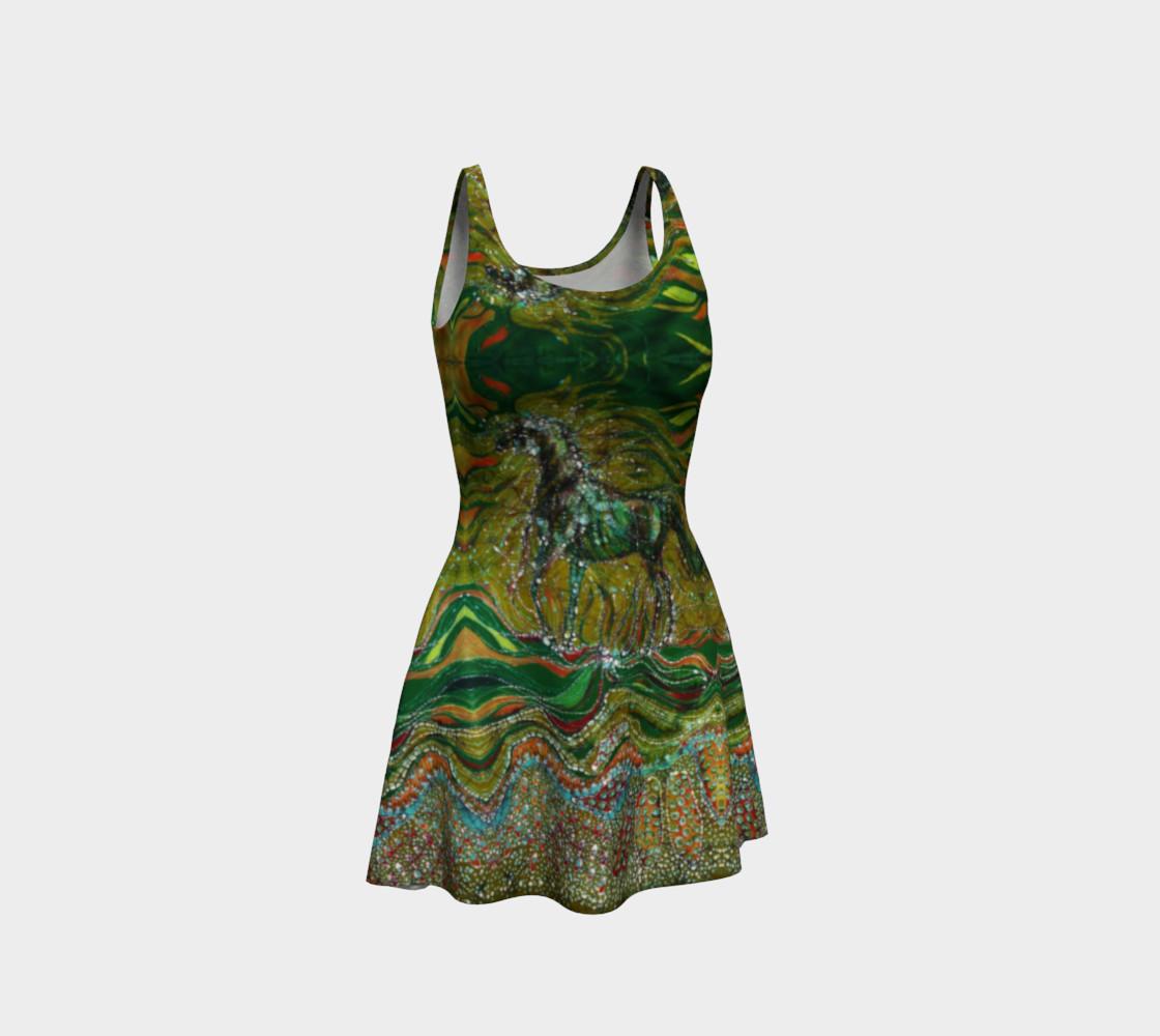 Green Horse Dress preview #1
