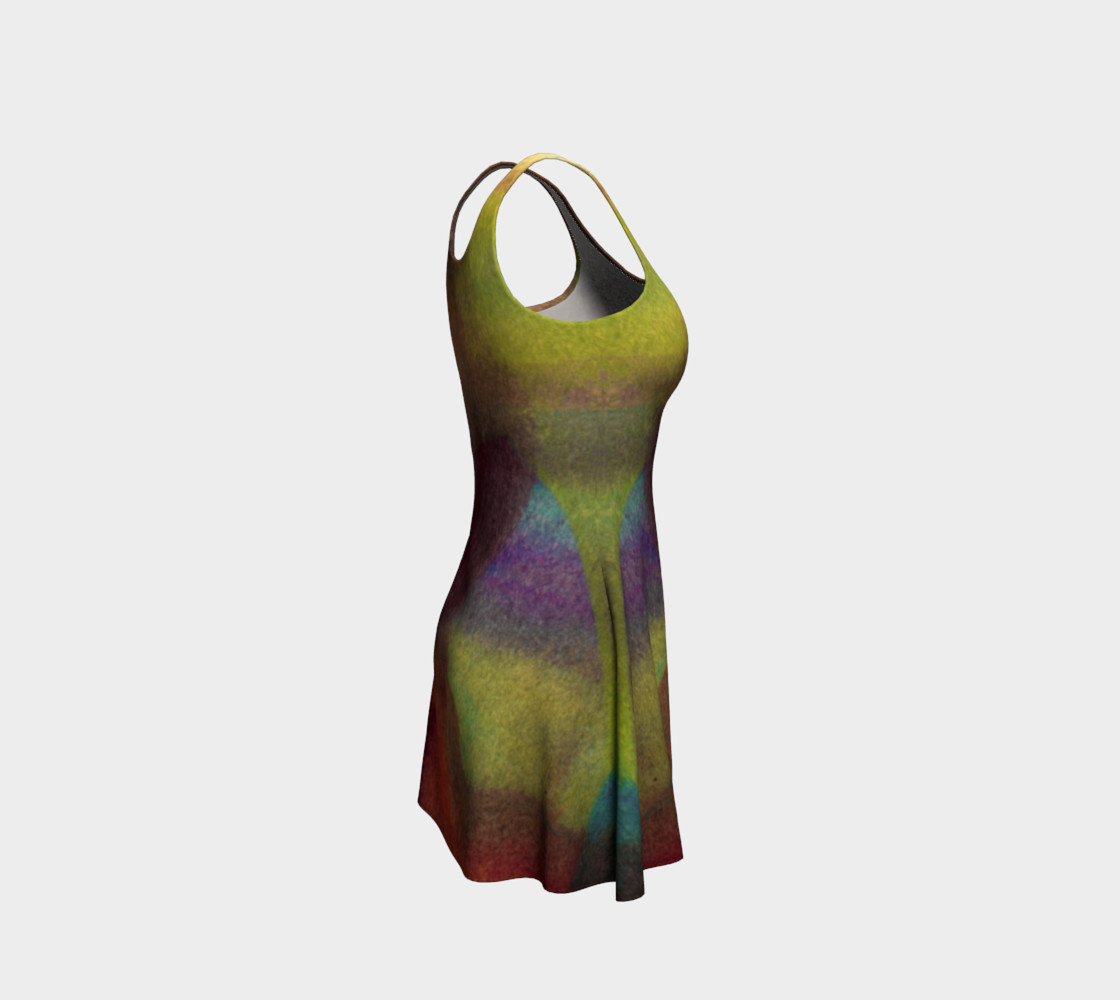 Tropical Watercolor Dress preview #4