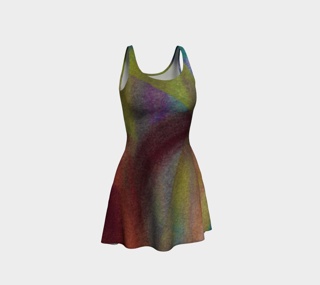 Tropical Watercolor Reverse Dress preview #1