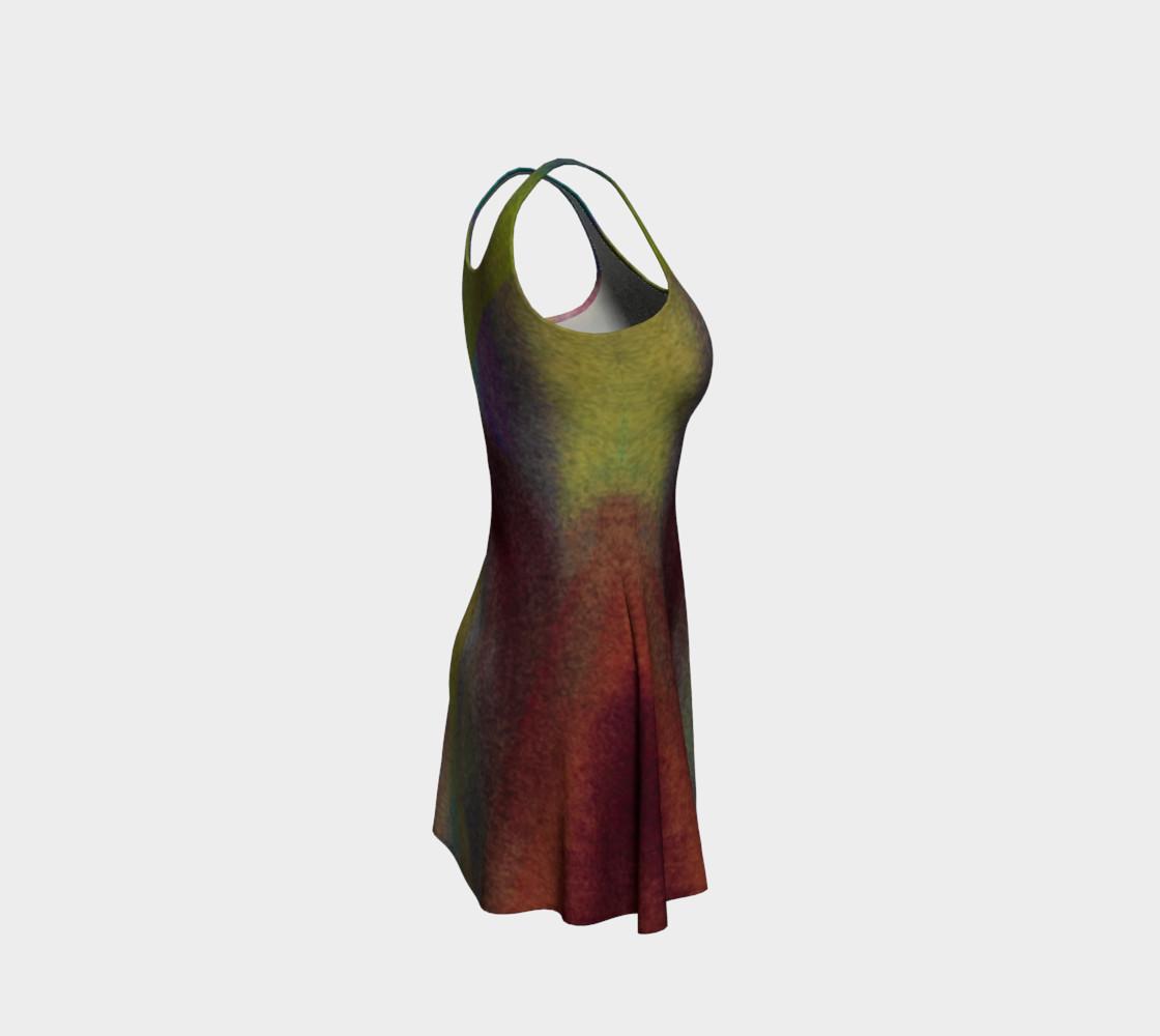 Tropical Watercolor Reverse Dress preview #4