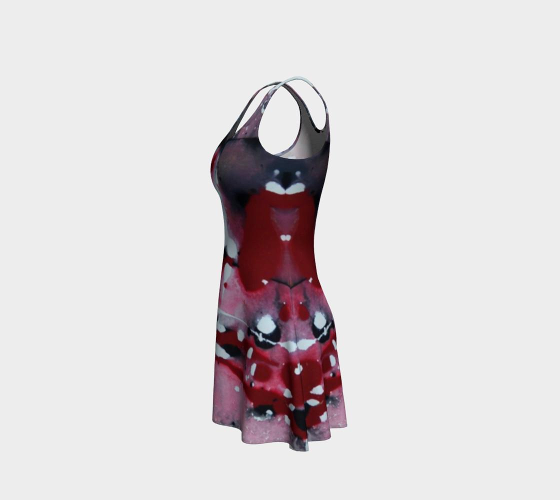 Dragon Serenade Flare Dress preview #2
