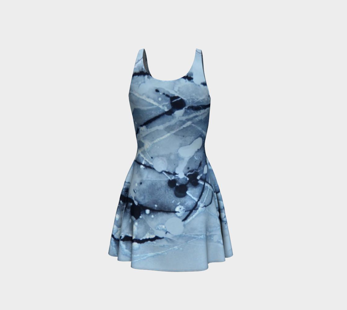 Aperçu de Cosmic Skydiving Flare Dress #3