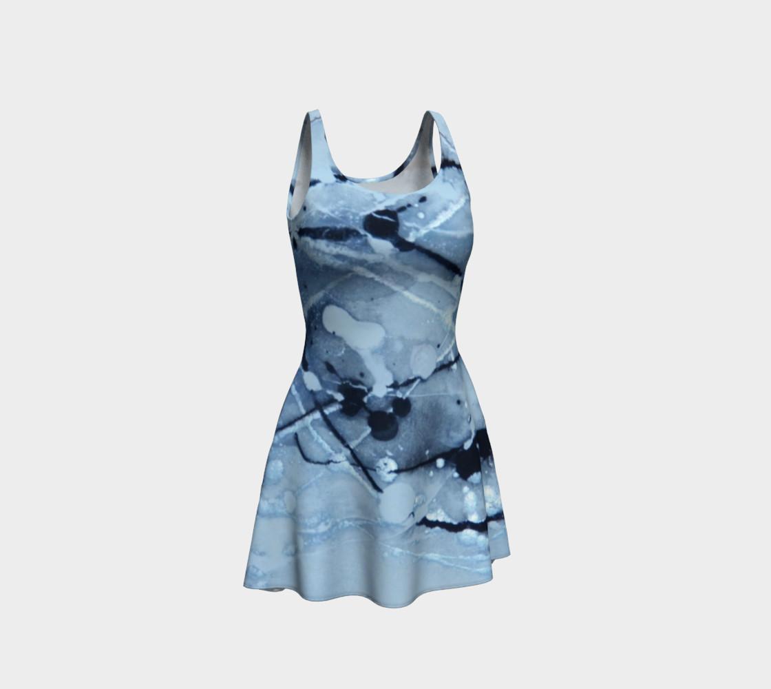 Aperçu de Cosmic Skydiving Flare Dress #1