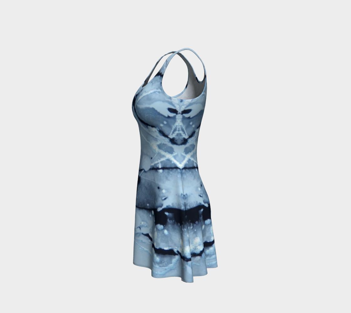 Aperçu de Cosmic Skydiving Flare Dress #2