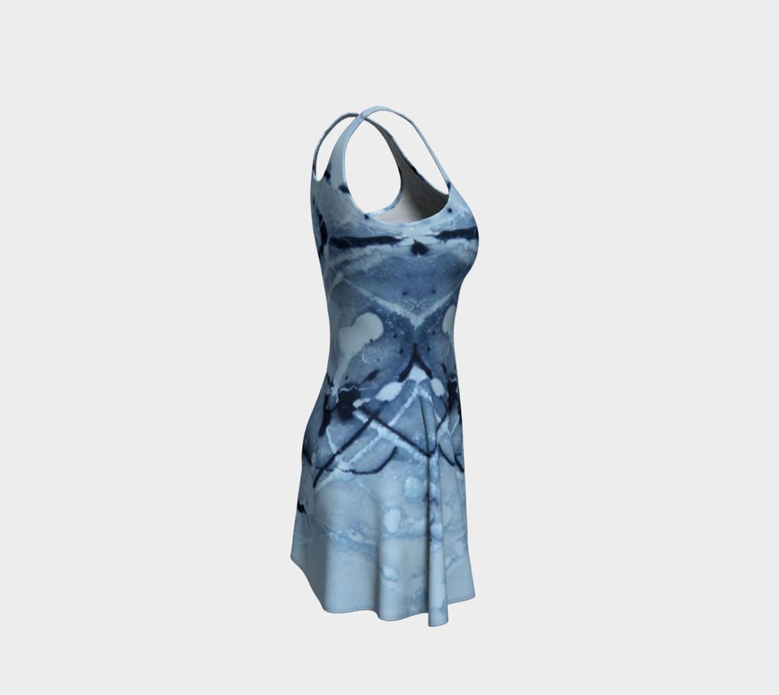 Aperçu de Cosmic Skydiving Flare Dress #4