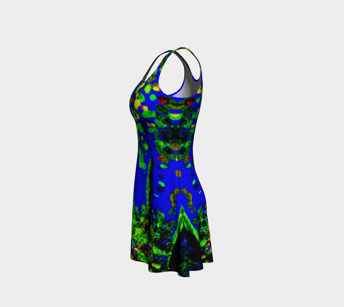 Magic Trees at Midnight Flare Dress preview #2
