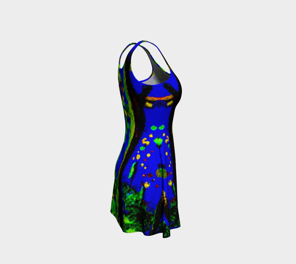 Magic Trees at Midnight Flare Dress preview #4