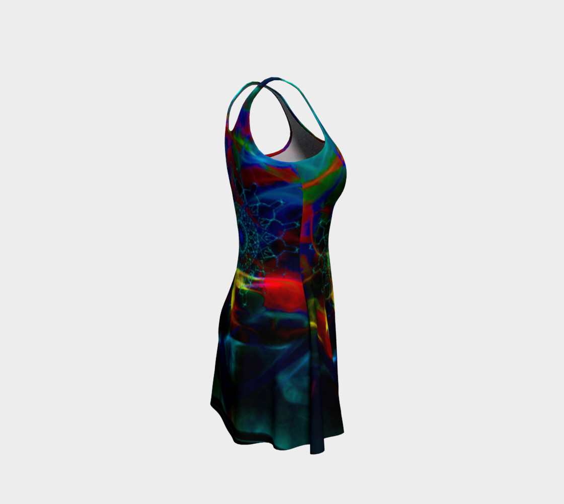 Abstract Flare Dress preview #4