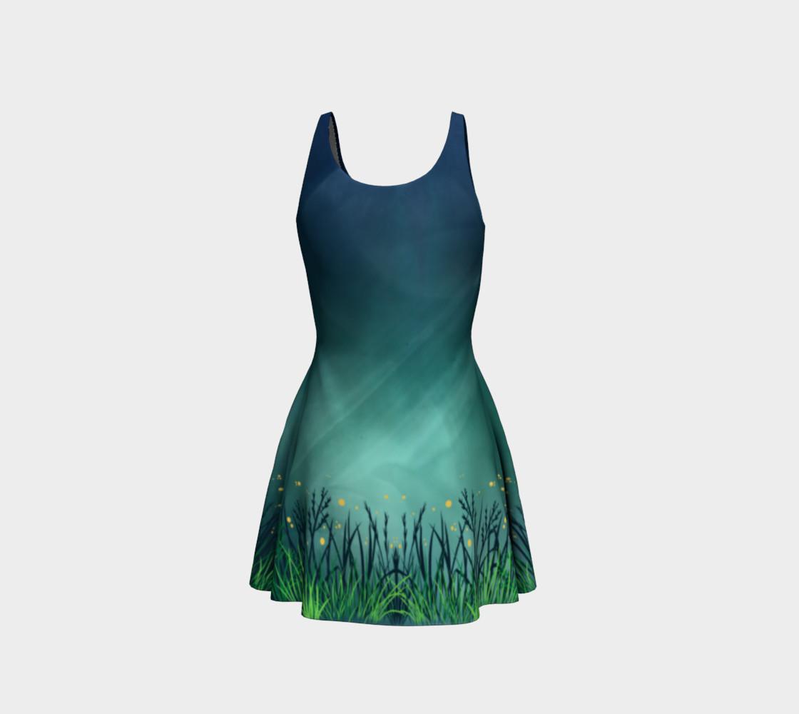 Aperçu de Midnight Fireflies Flare Dress #3