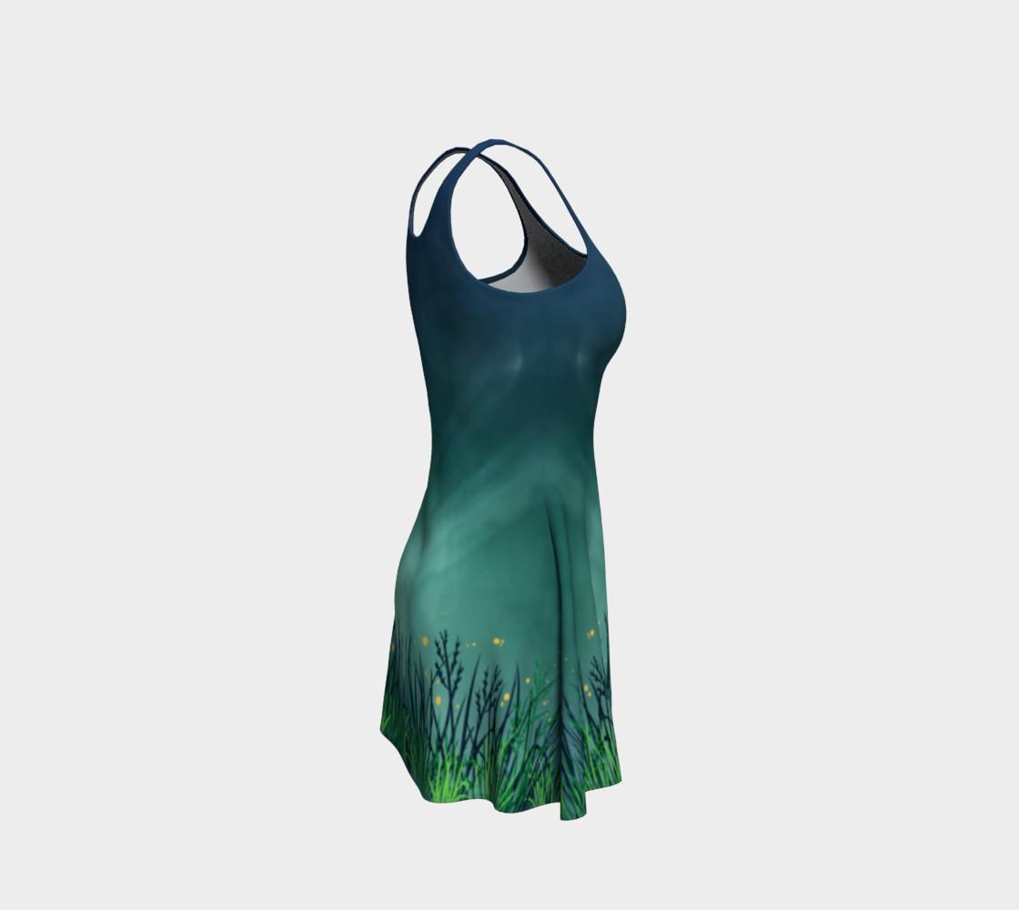 Midnight Fireflies Flare Dress preview #4