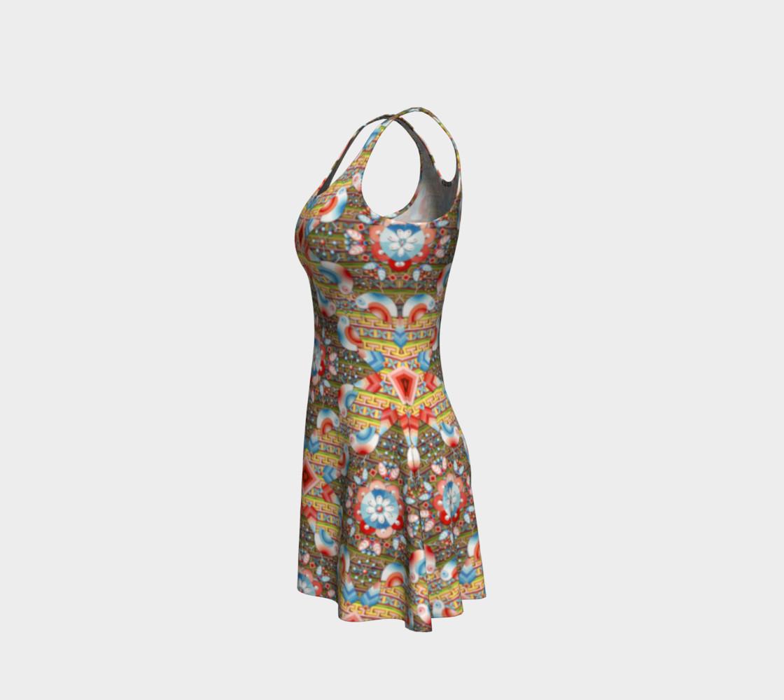 Heraldic Lovebird Flare Dress preview #2
