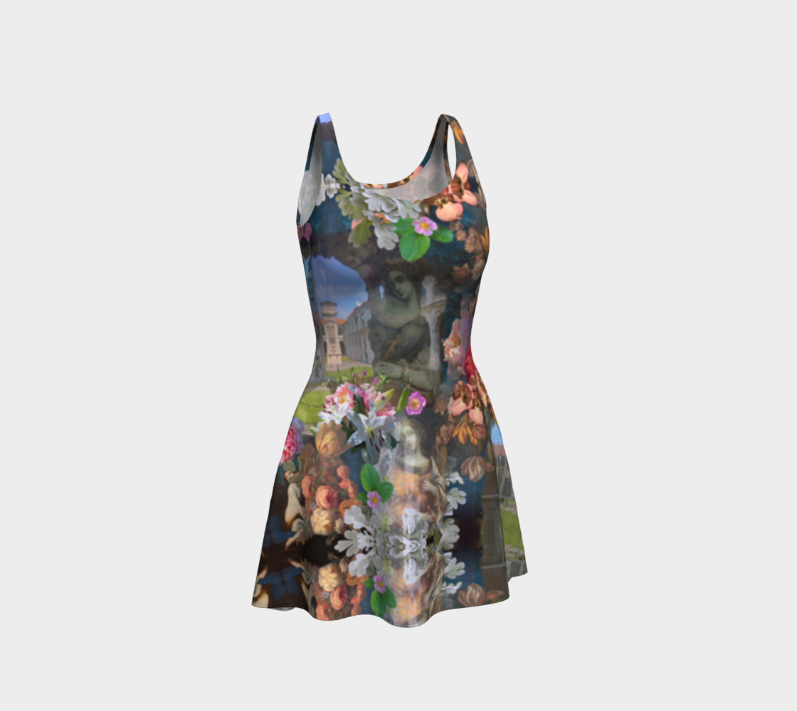 Flowers of the Loreta 1 Flare Dress preview #1