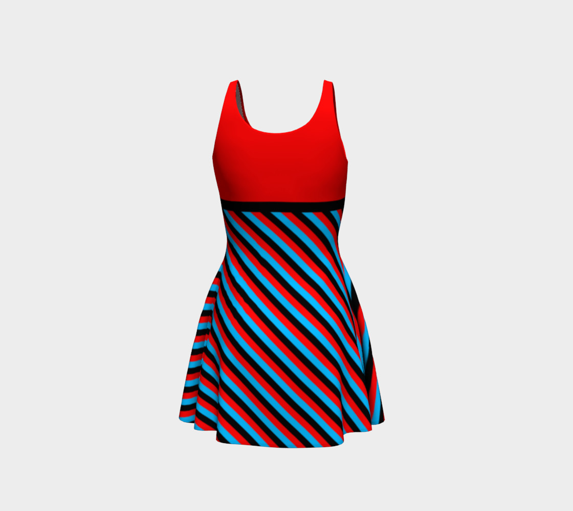 Stripes Collection - Red, Blue & Black preview #3