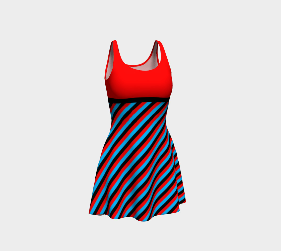 Stripes Collection - Red, Blue & Black preview #1