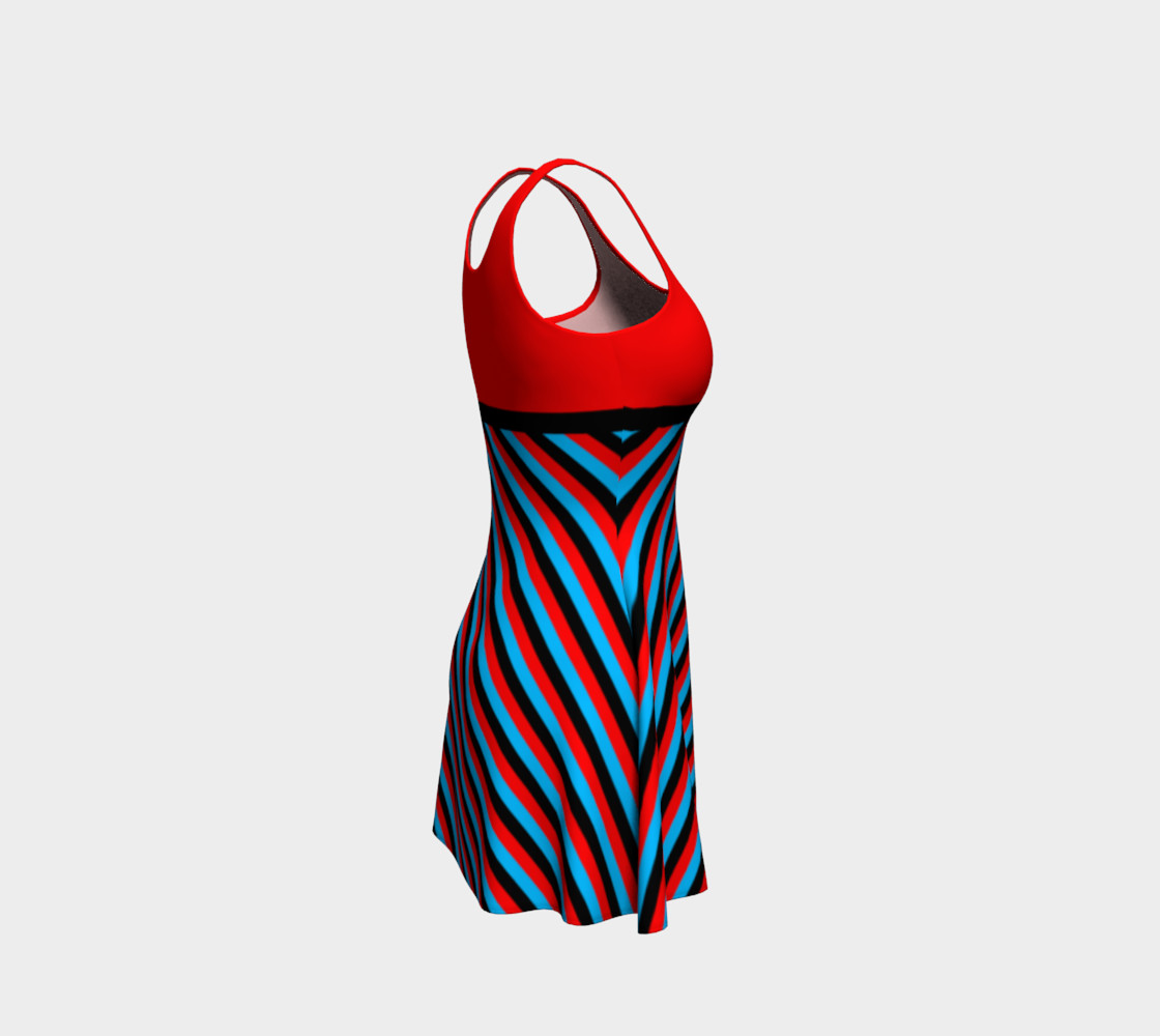 Stripes Collection - Red, Blue & Black preview #4