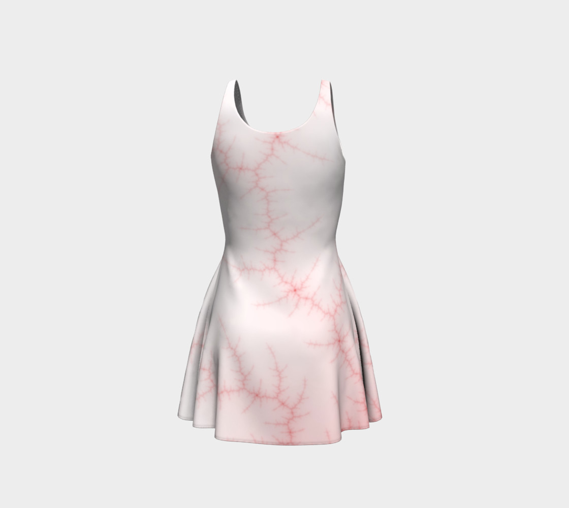 veins flare dress preview #3