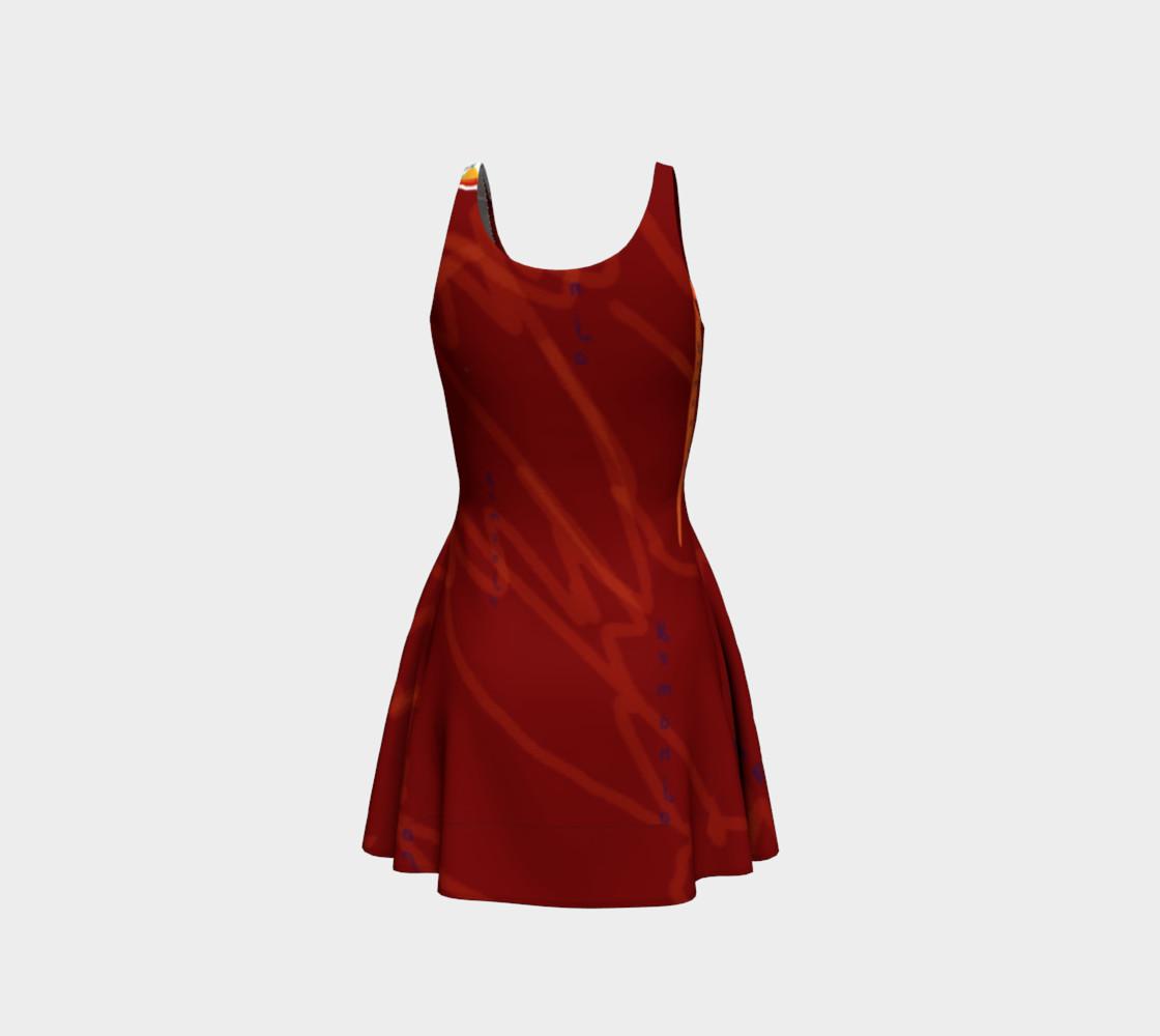 Yemanja Flare Dress preview #3