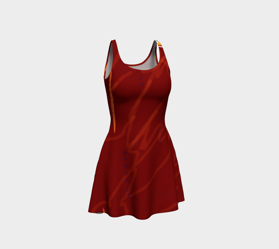 Yemanja Flare Dress preview #1
