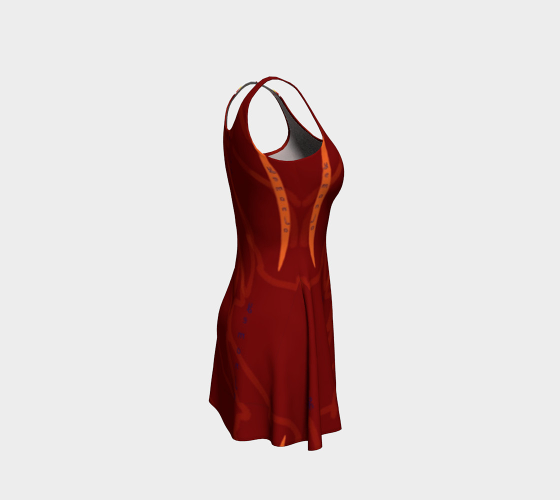Yemanja Flare Dress preview #4