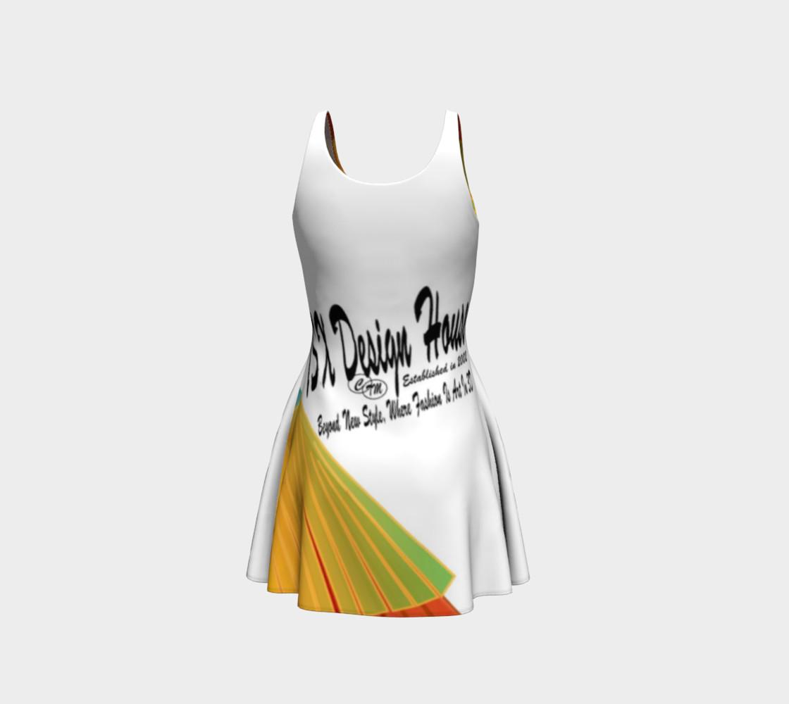 TSXDH Logo Flare Dress preview #3