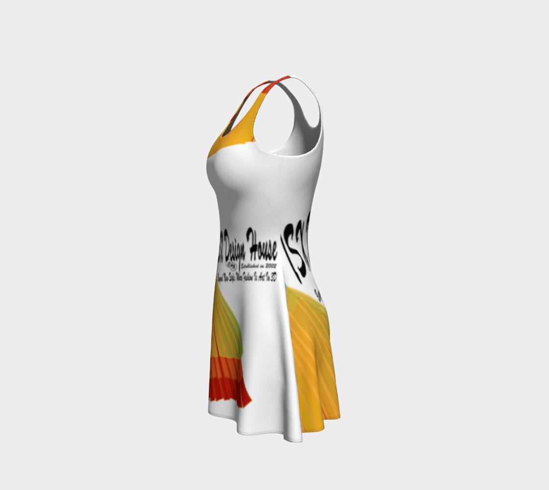 TSXDH Logo Flare Dress preview #2