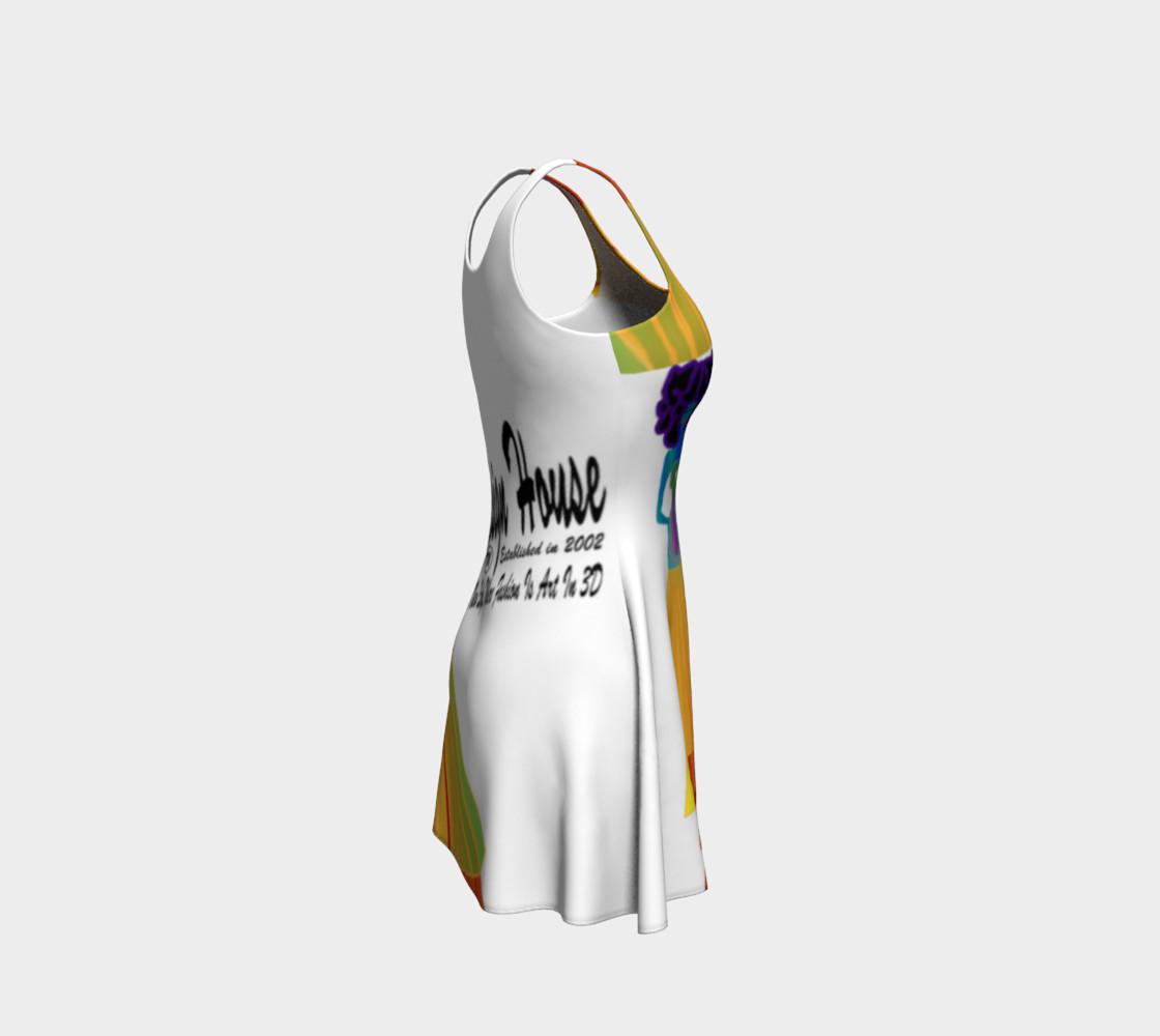 TSXDH Logo Flare Dress preview #4