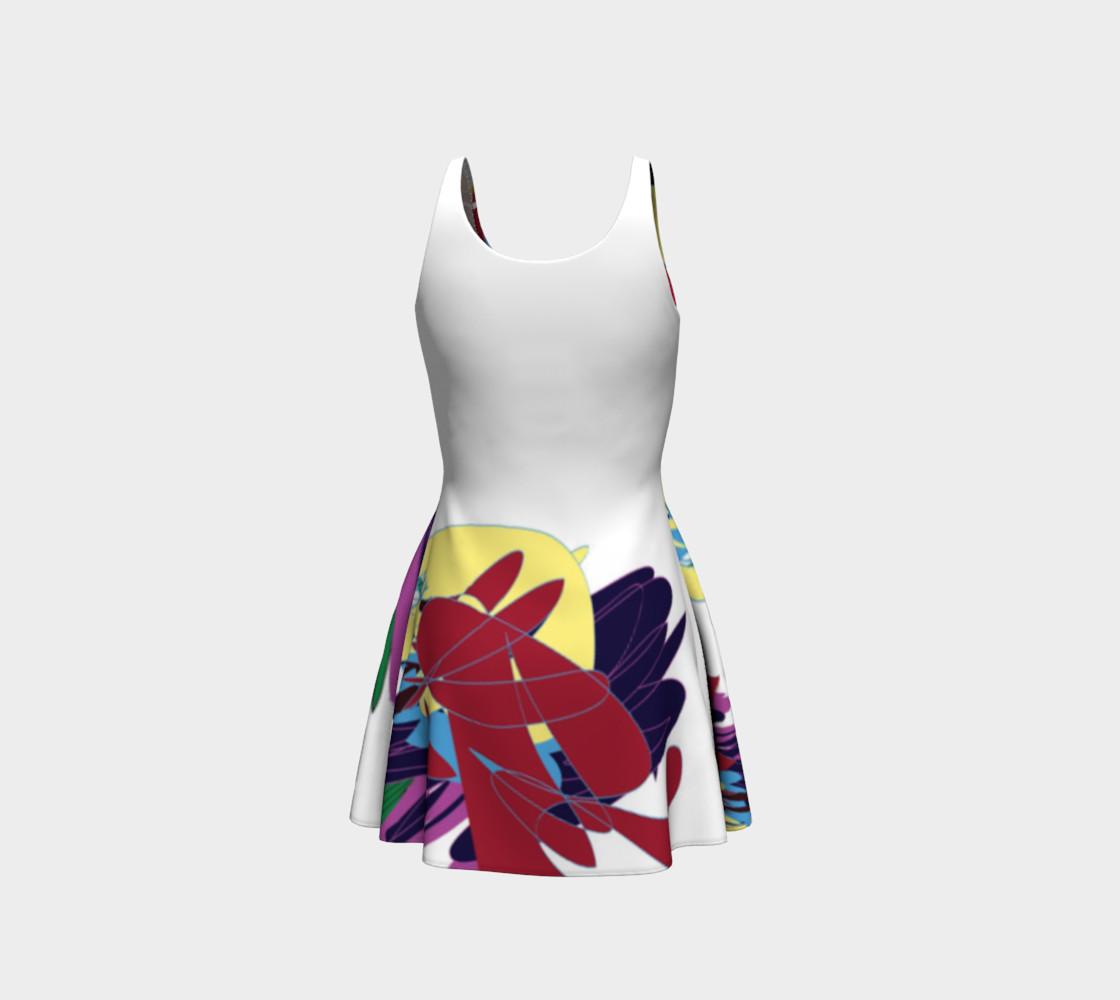 UZO Flare Dress preview #3