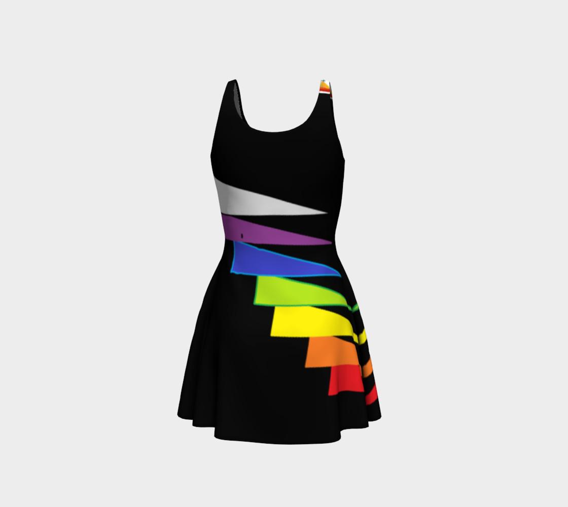 Chakras Flare Dress preview #3