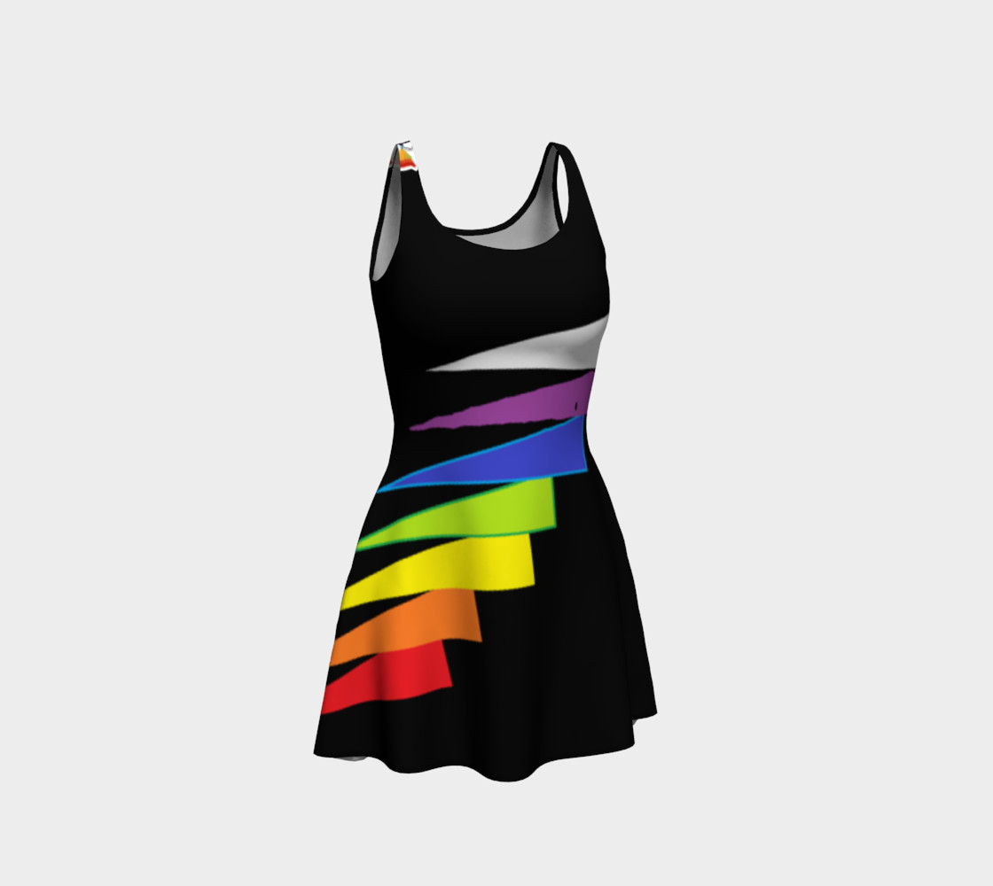Chakras Flare Dress preview #1