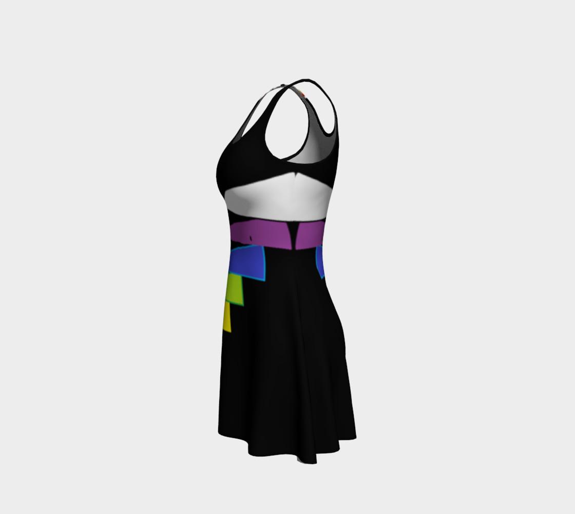 Chakras Flare Dress preview #2