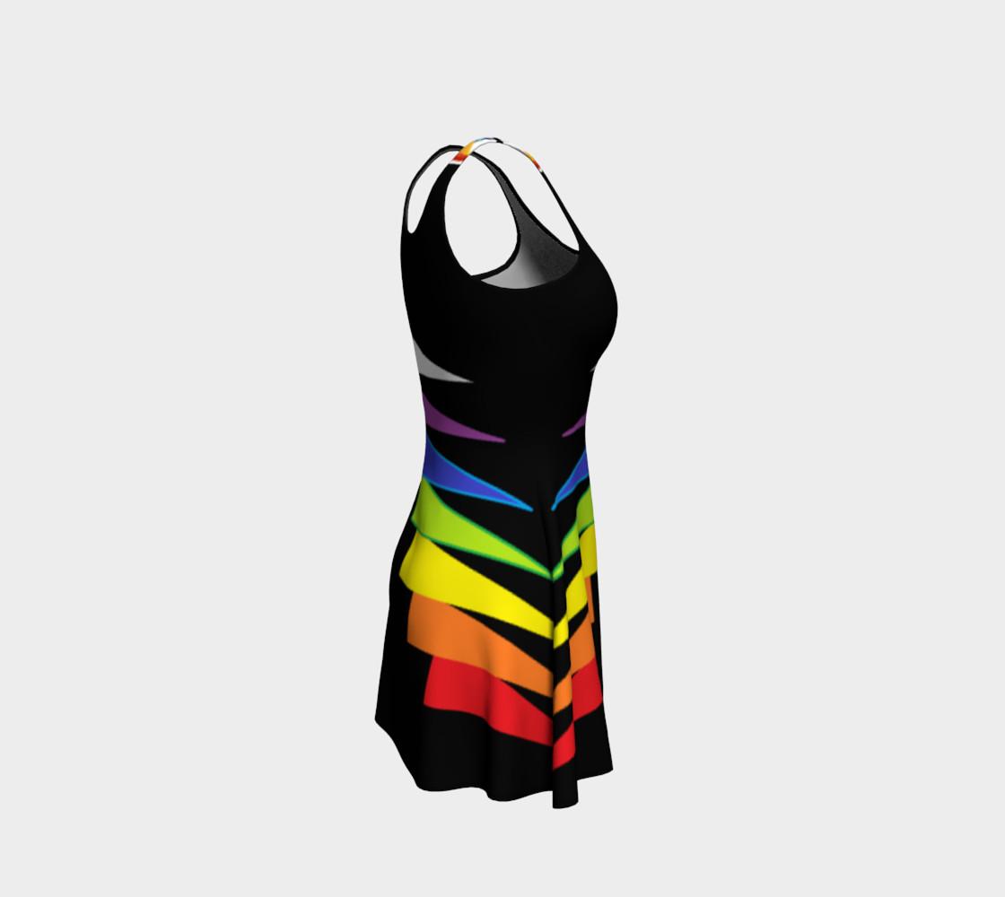 Chakras Flare Dress preview #4