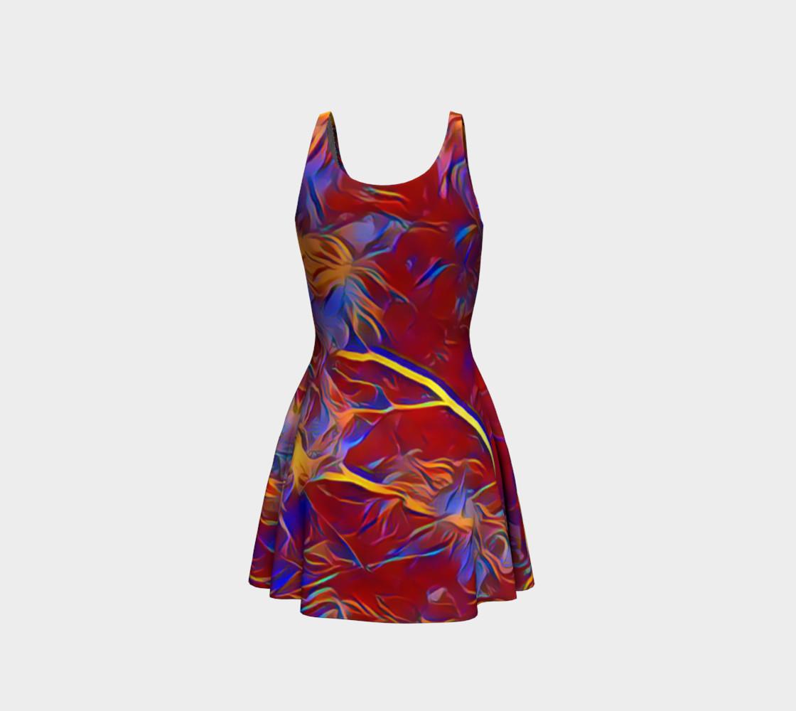 Aperçu de October Afternoon Flare Dress #3