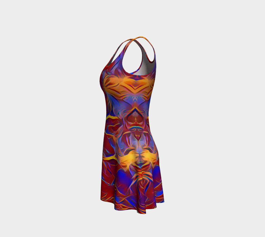Aperçu de October Afternoon Flare Dress #2