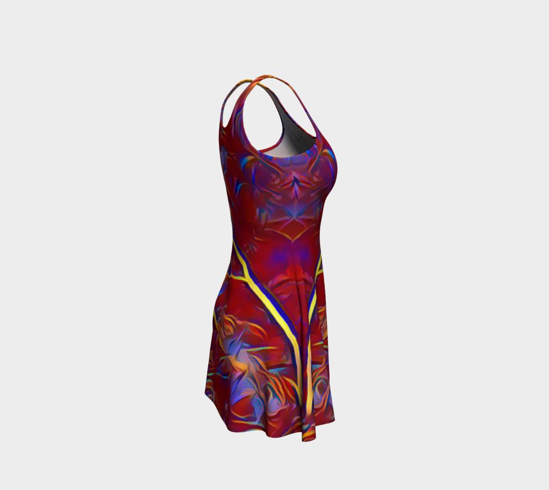 Aperçu de October Afternoon Flare Dress #4