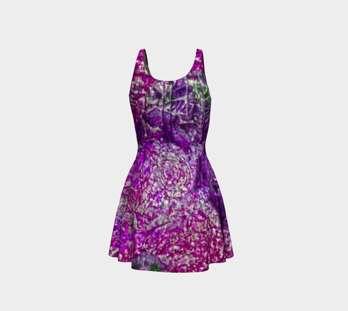 Purple Passion Flare Dress preview #3