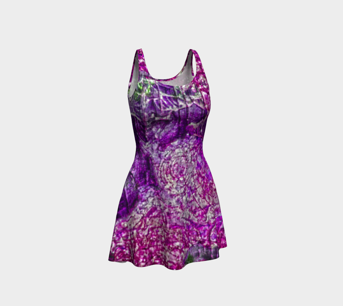 Purple Passion Flare Dress preview #1