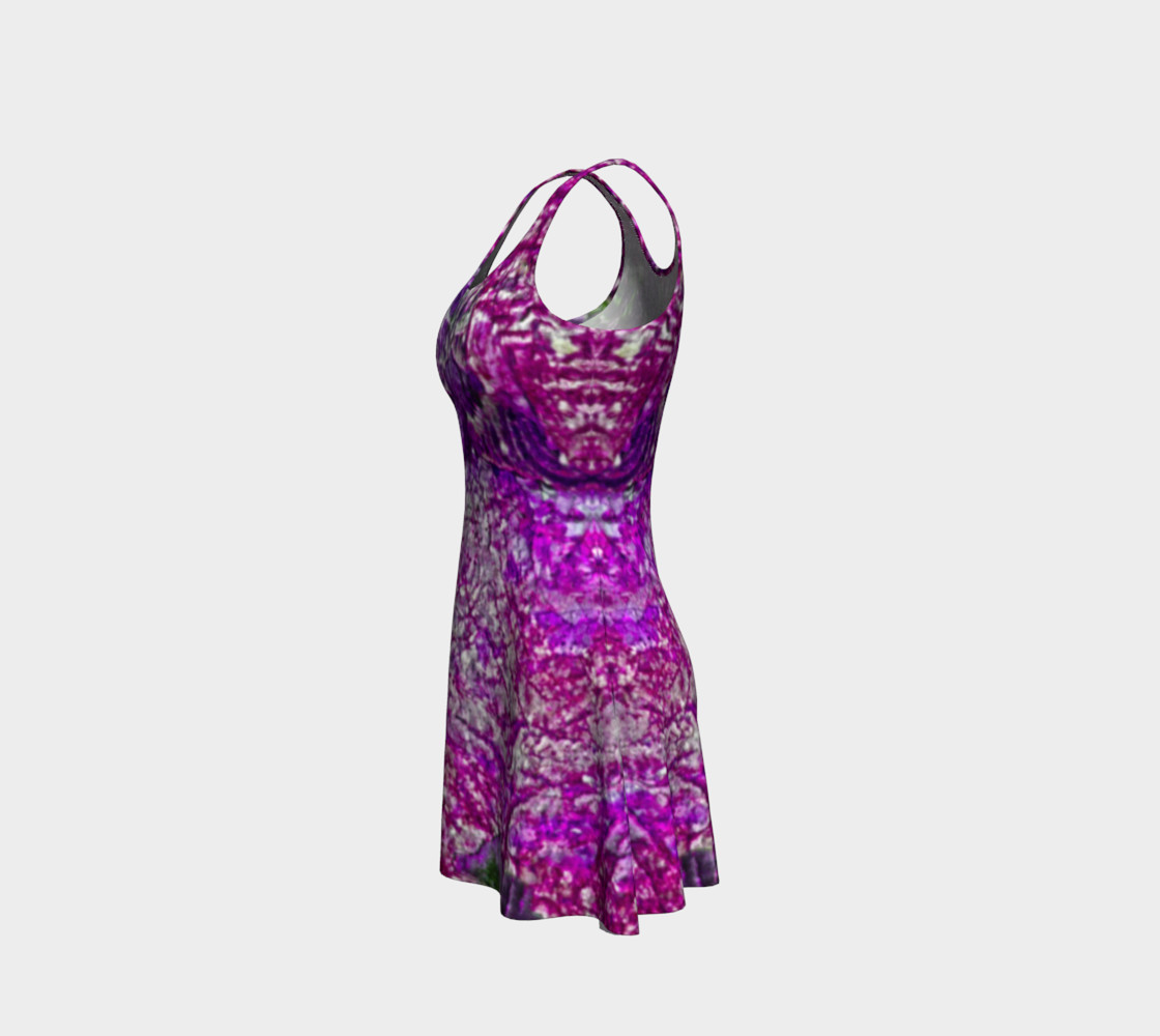 Purple Passion Flare Dress preview #2