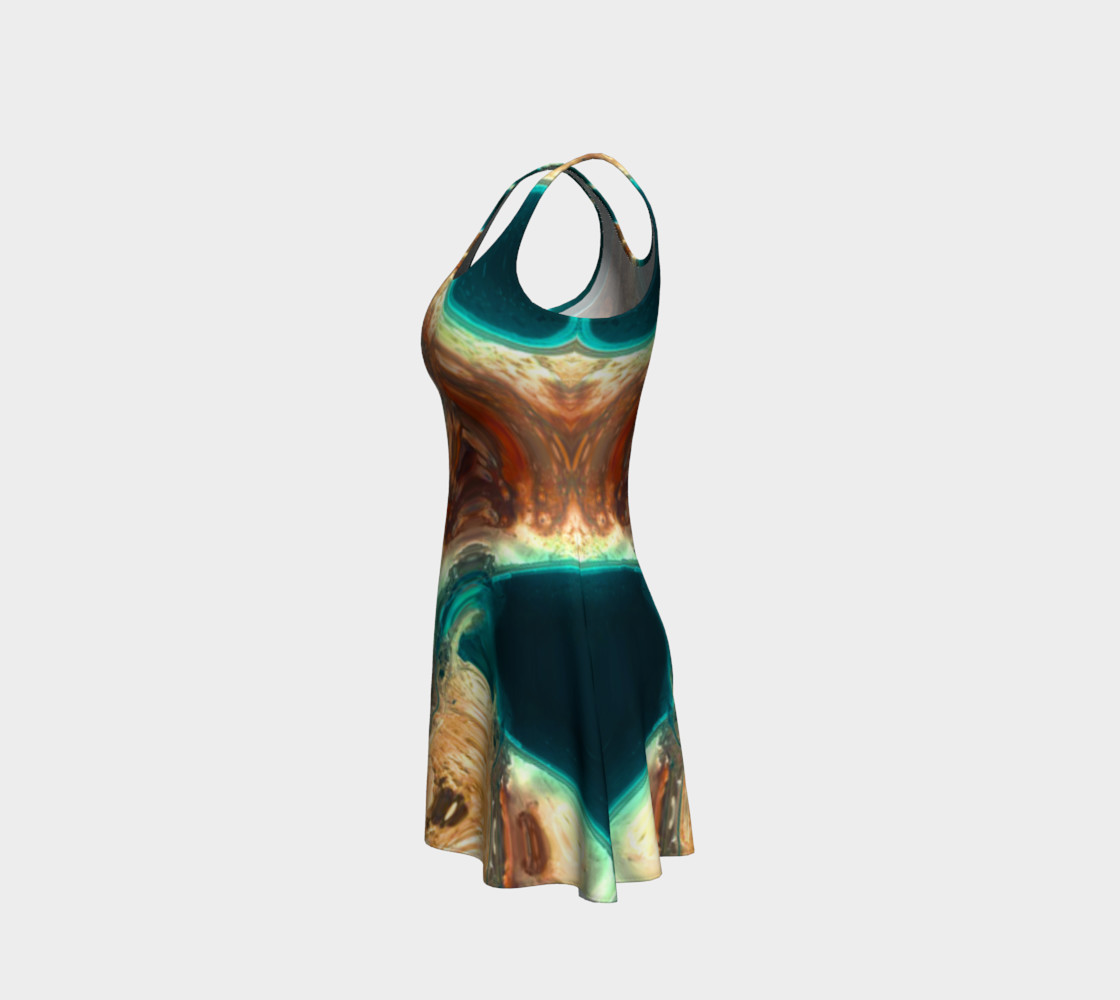 The Sea Flared Dress preview #2