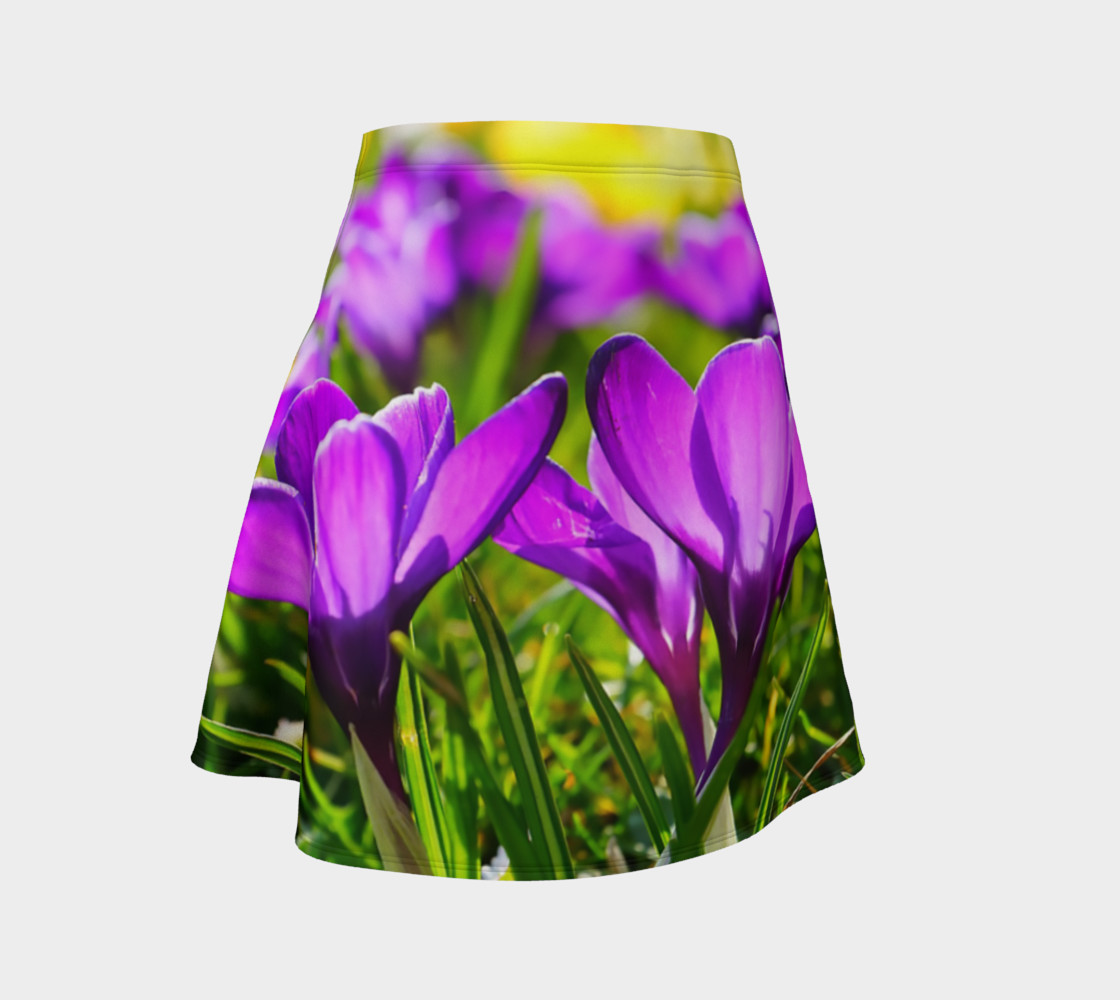 Welcome Sign Flare Skirt preview #1