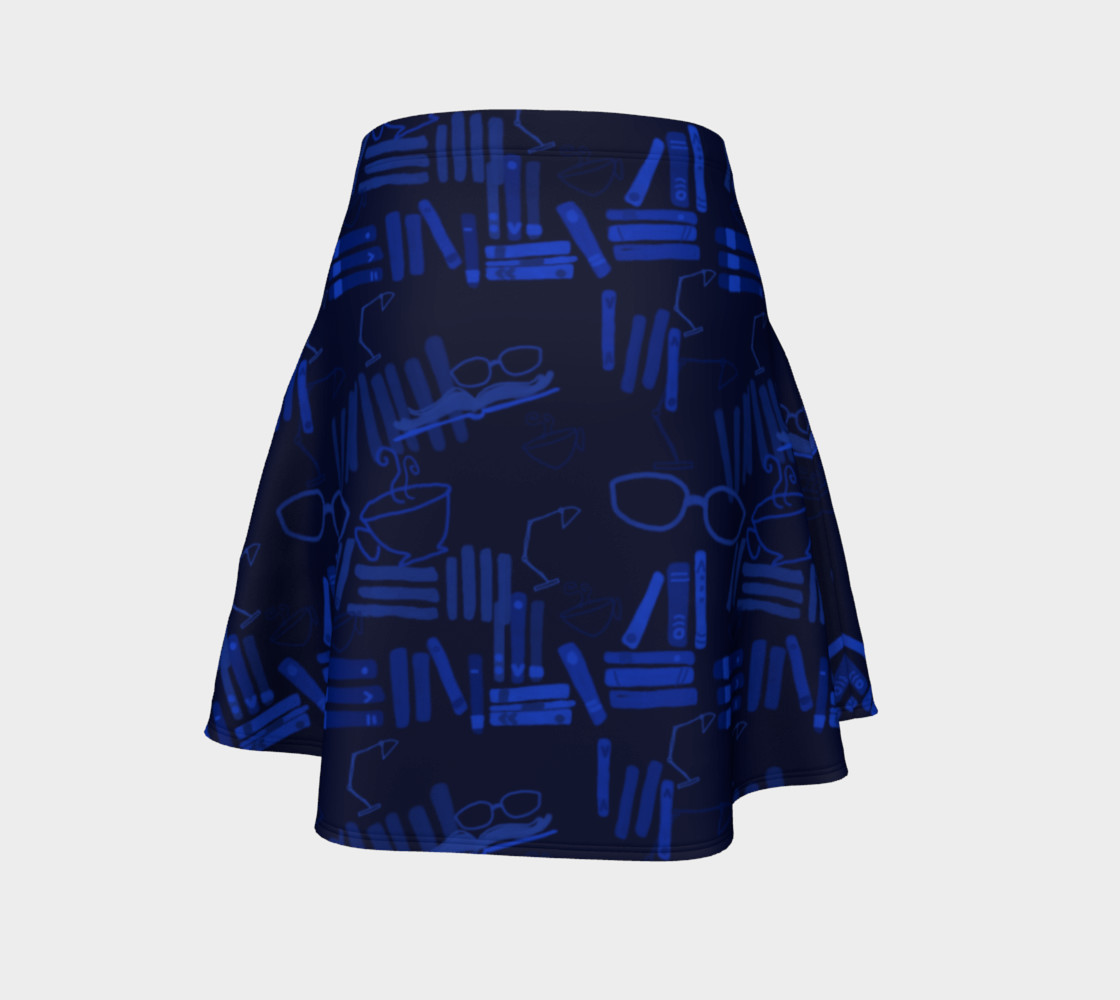 But First I Shall Read - Flare Skirt preview #4