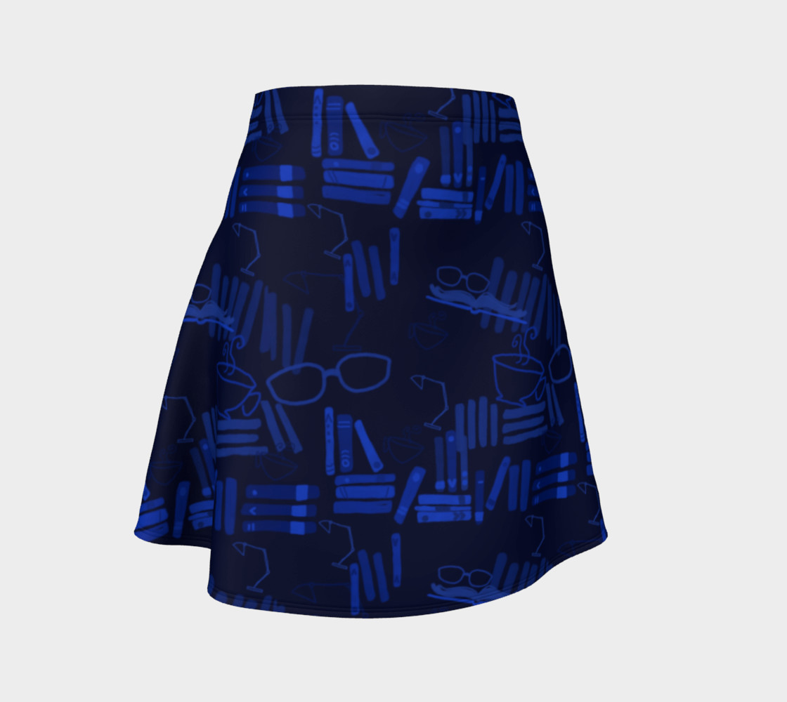 But First I Shall Read - Flare Skirt preview #1