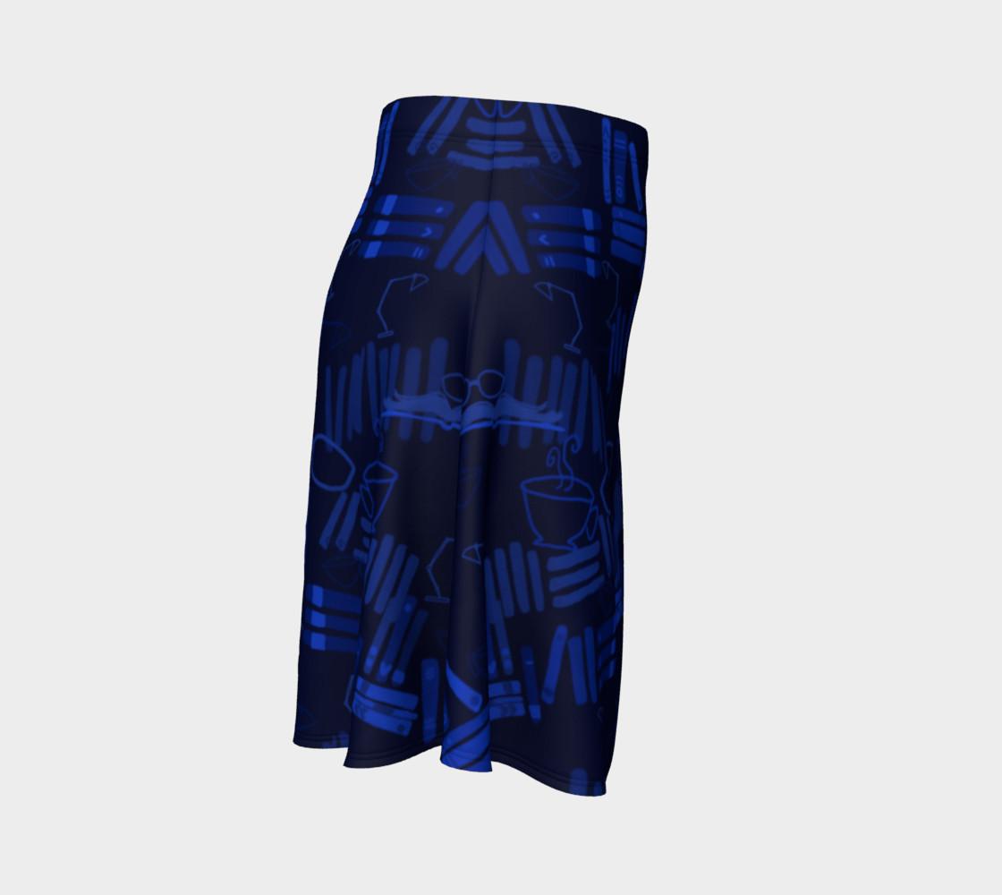 Aperçu de But First I Shall Read - Flare Skirt #3