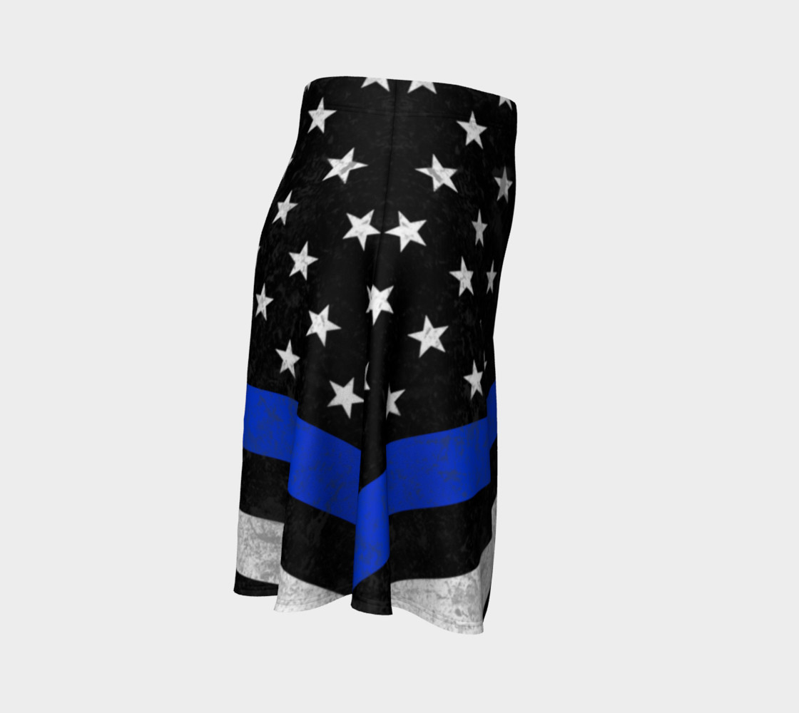 Those In Blue Flare Skirt preview #3