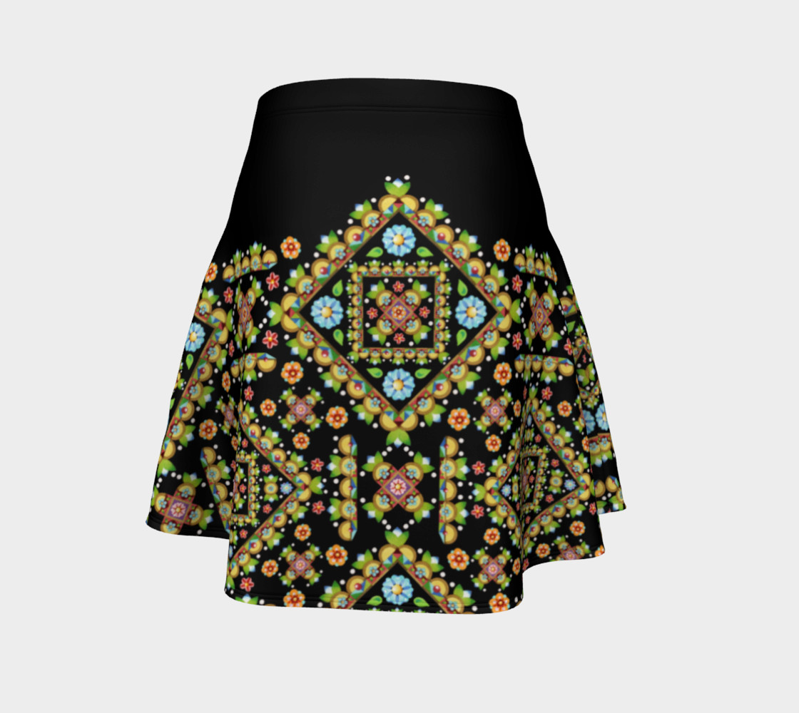 Aperçu de Cottage Garden Flare Skirt Placement #4