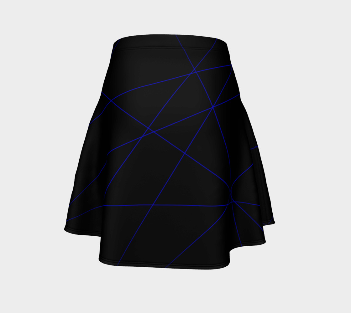 Blue Laser Flare Skirt preview #4