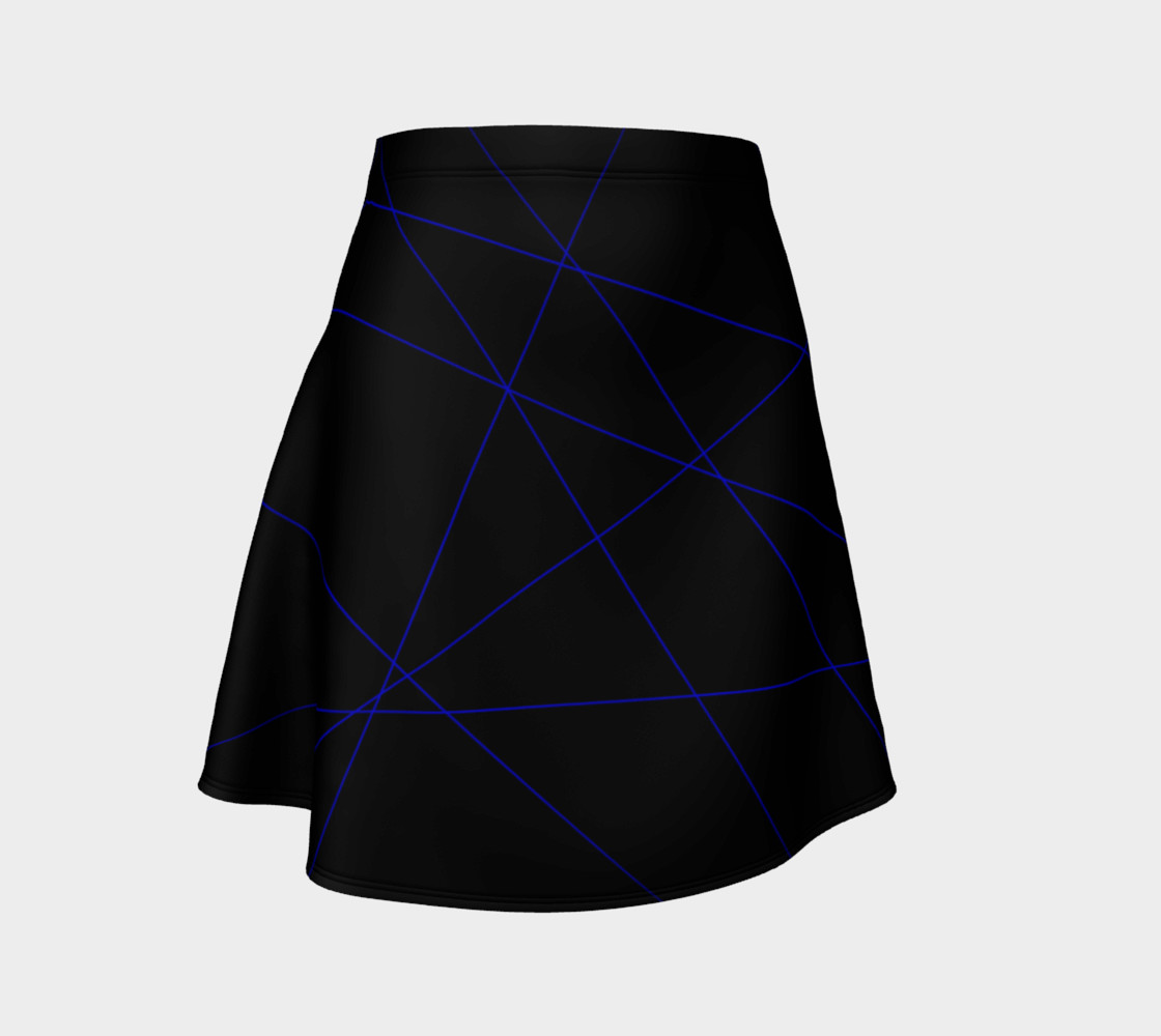 Blue Laser Flare Skirt preview #1