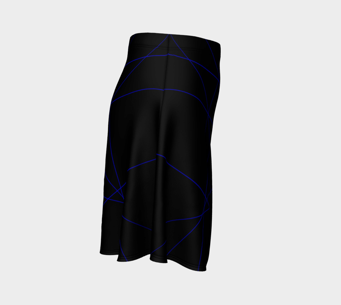 Blue Laser Flare Skirt preview #3