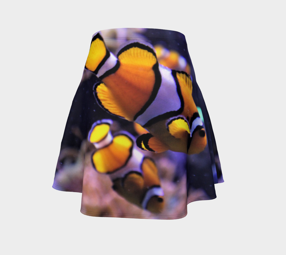 Clown Fish Flared Skirt  preview #4